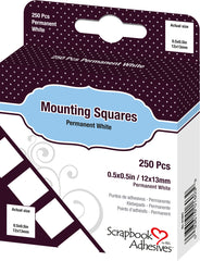 Double-Sided Adhesive Photo Mounting Squares