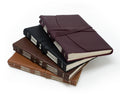 Softest Leather Wrap Journal - Hand Stitched - Chocolate Brown