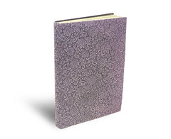 Fiori lined pages notebook - Lavender Frost