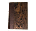 The World's Thickest Wood Cover Journal by Epica From Reclaimed Italian Timbers