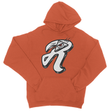 Pyramid Red Eyed R Logo College Hoodie - redeyedandlifted