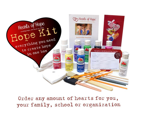 HOPE Kits - Cost per Heart lowers with increased quantities
