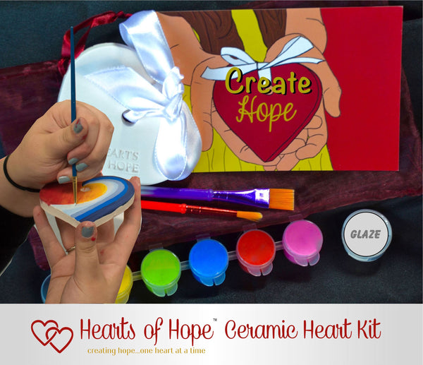 Paint A Heart Gift Set