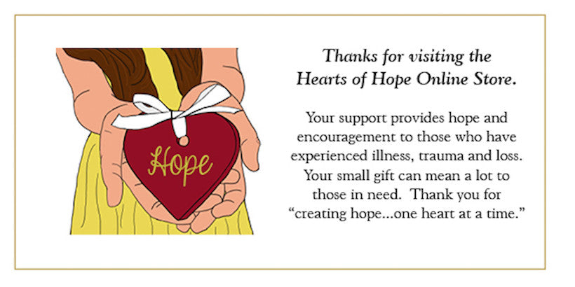 Hearts of Hope online store