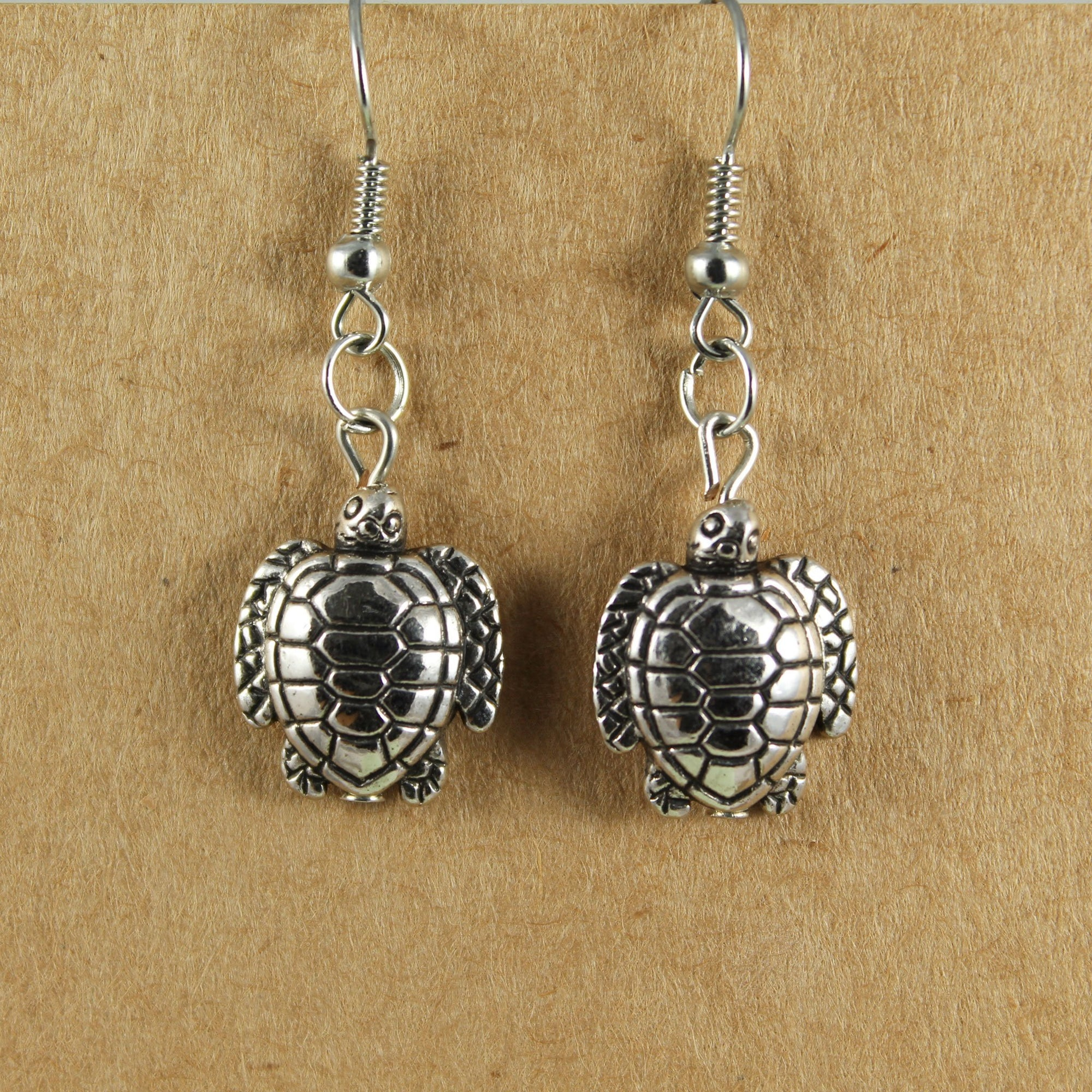 Turtle Earrings | Earrings - The Naughty Shrew