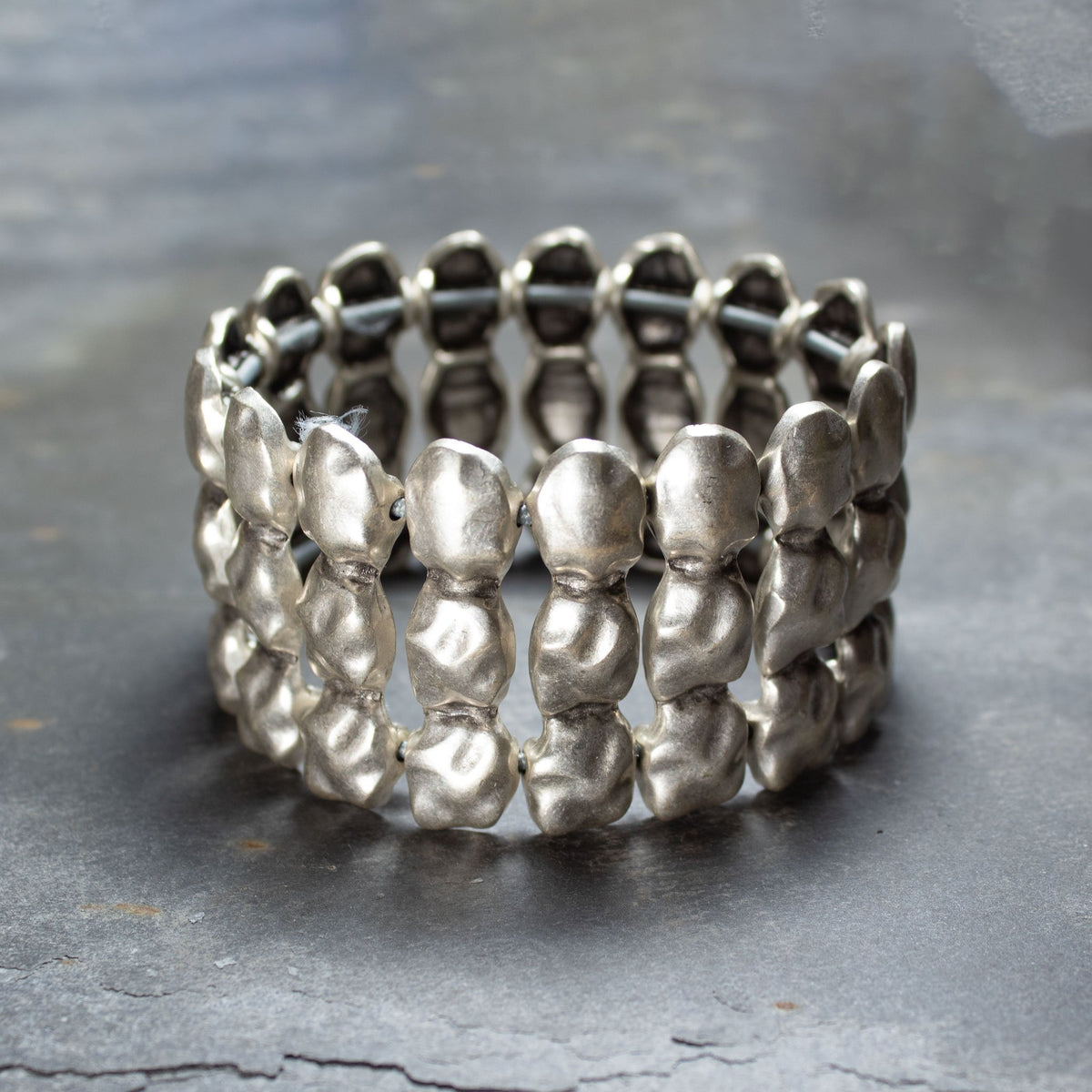Stretchy Statement Cuff Bracelet | Bracelet - The Naughty Shrew