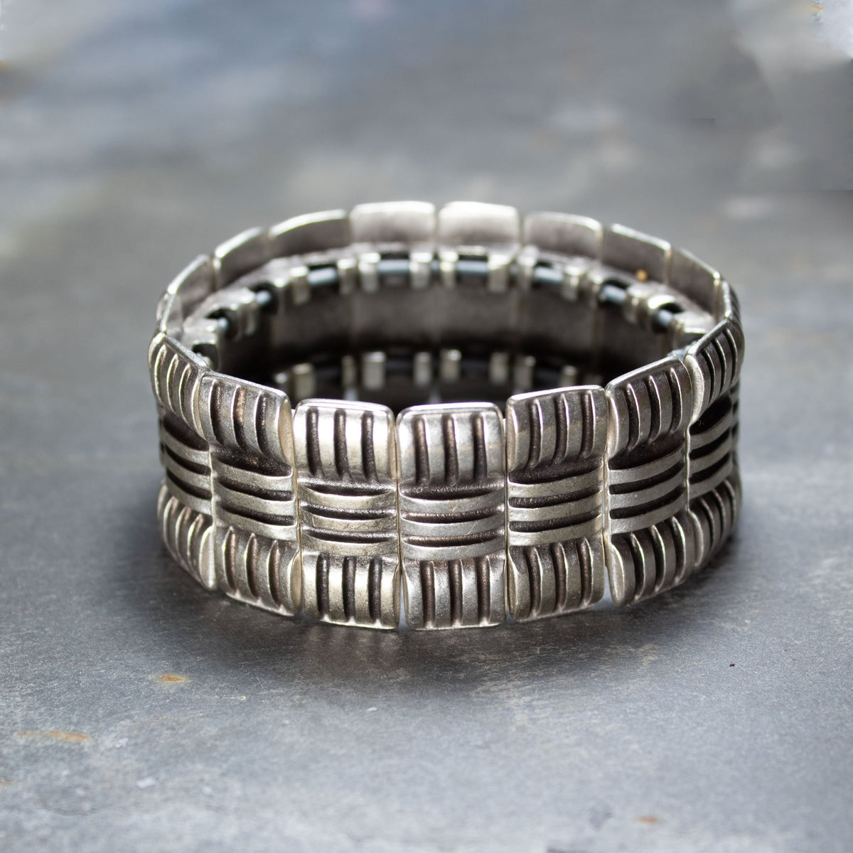 Chunky Metal Cuff Bracelet | Bracelet - The Naughty Shrew