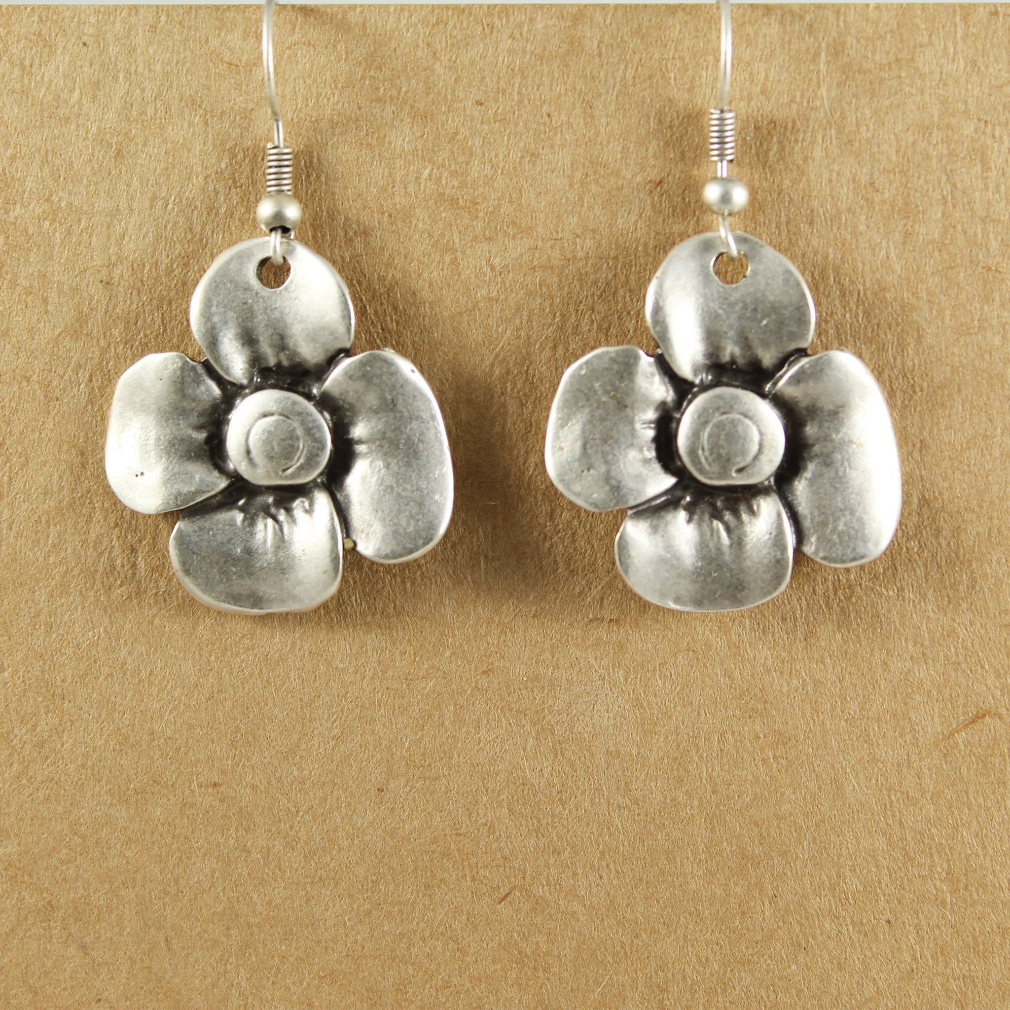 Flower earrings | Earrings - The Naughty Shrew