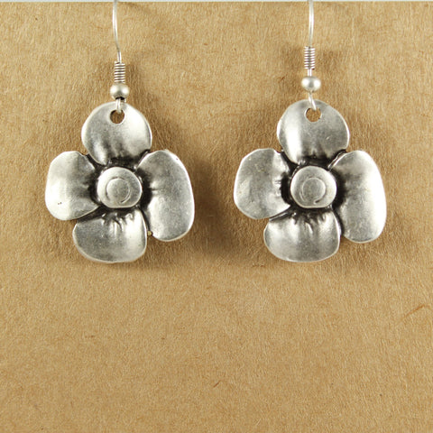 Flower earrings - The Naughty Shrew