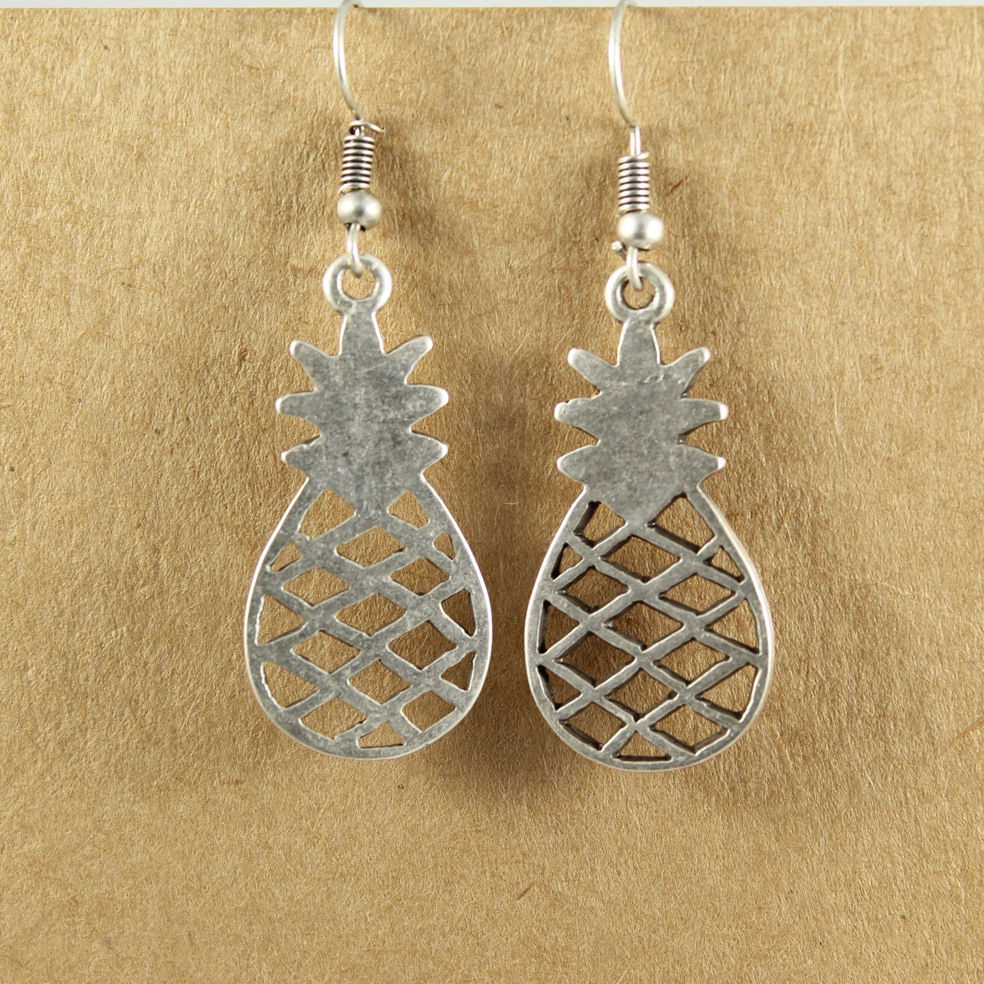 Pineapple earrings | Earrings - The Naughty Shrew
