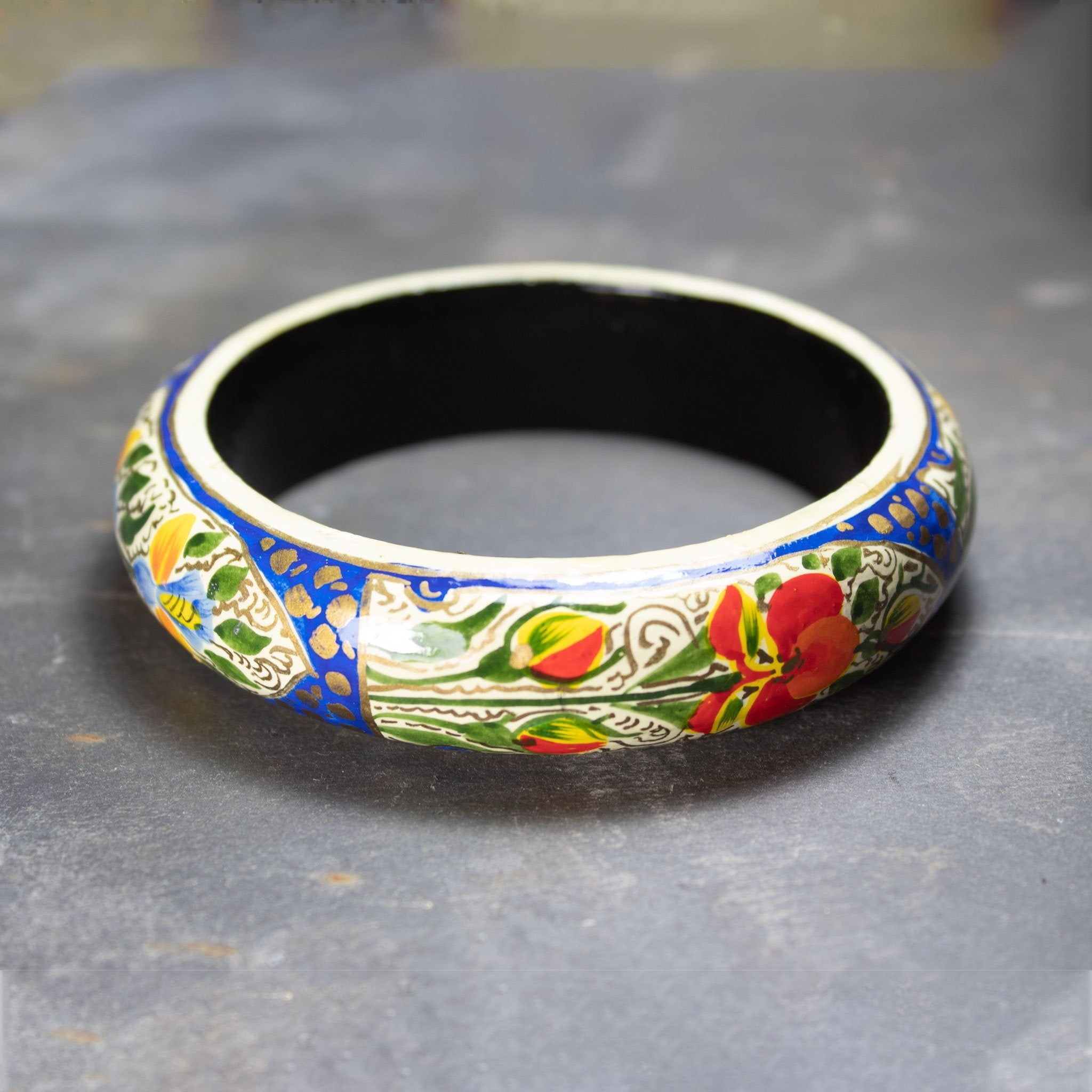 Painted Bangle | Bracelet - The Naughty Shrew