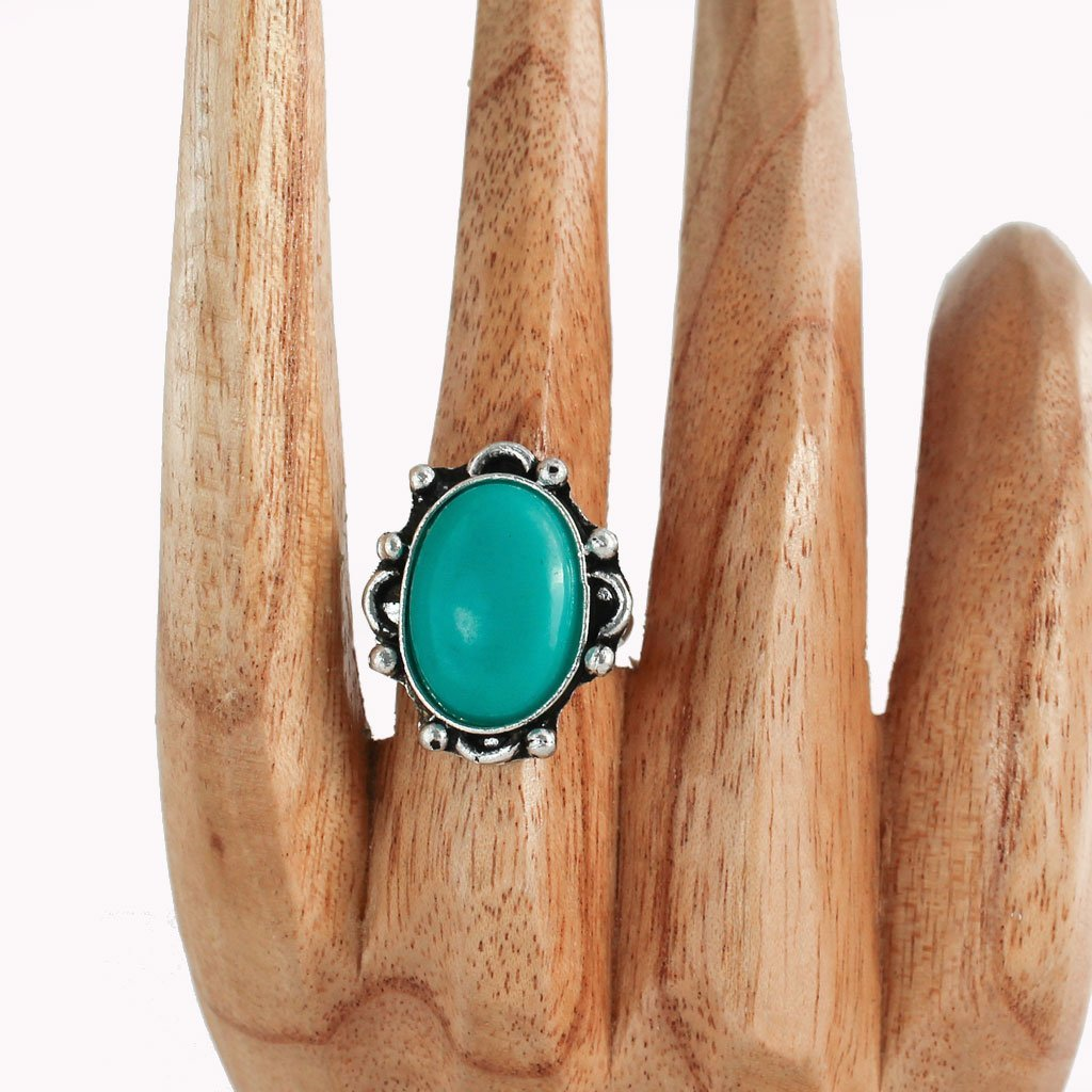 Turquoise ring | Ring - The Naughty Shrew