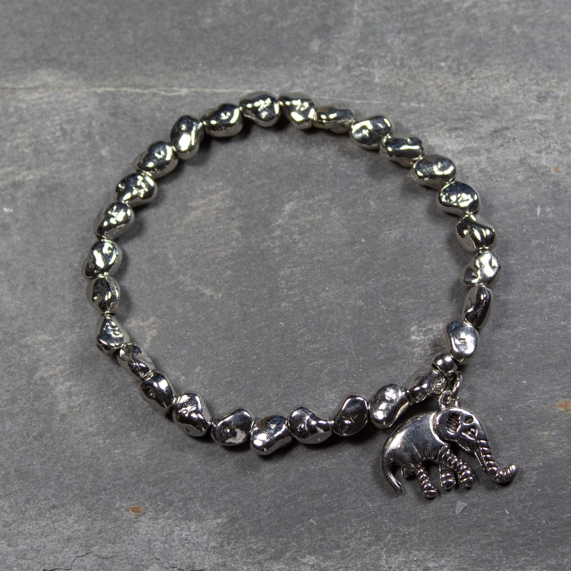 Elephant Charm Bracelet | Bracelet - The Naughty Shrew