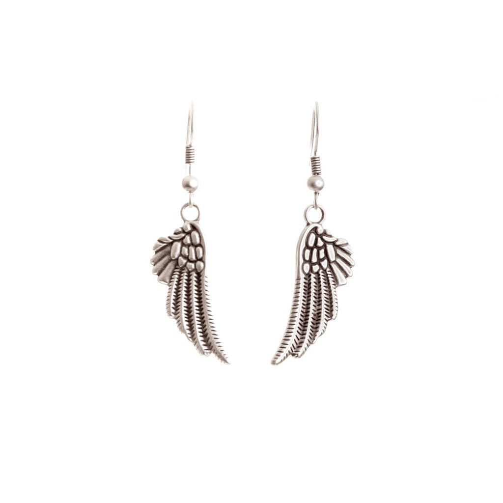 Bird wing earrings | Earrings - The Naughty Shrew
