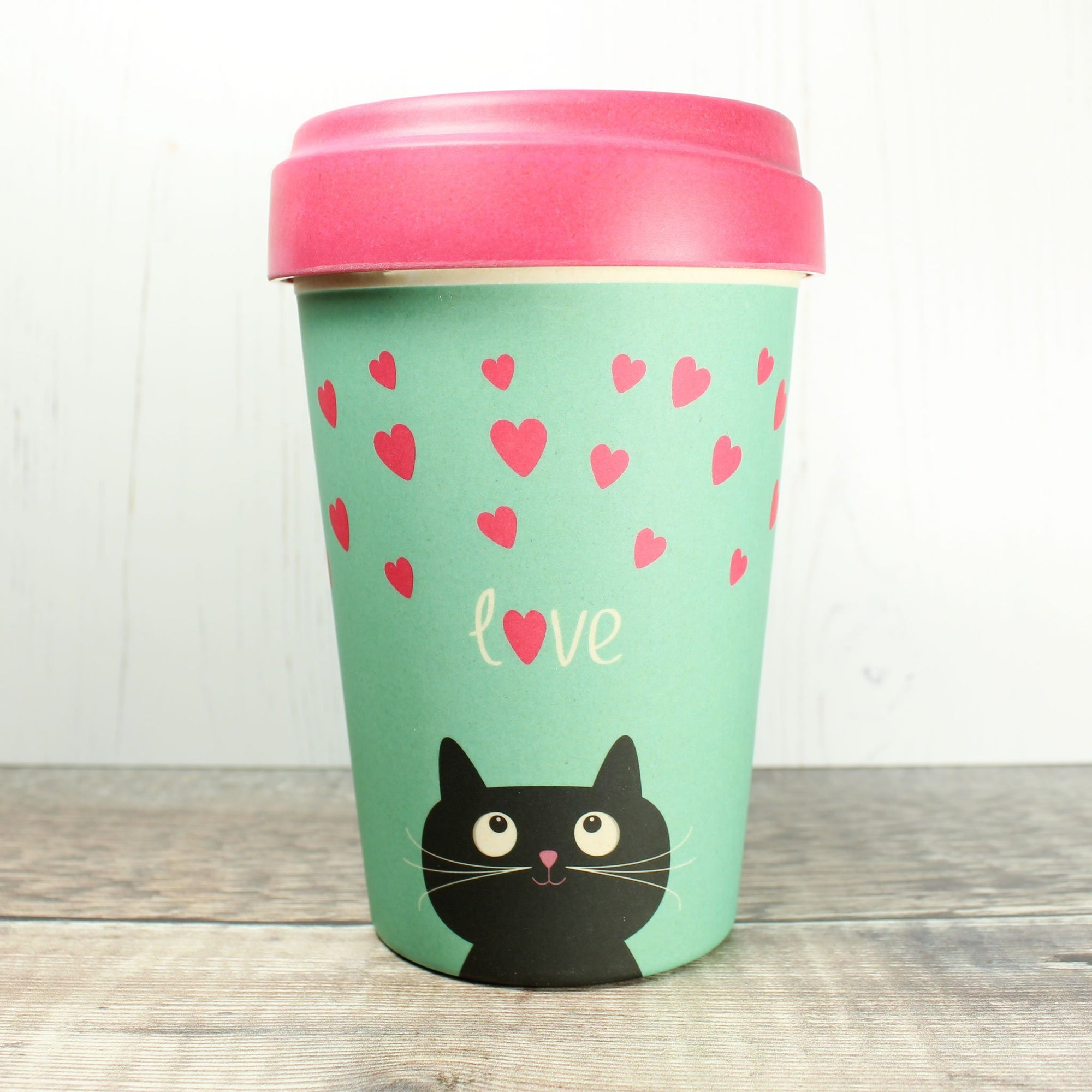 Bamboo Cup - Kitty Love | Bamboo Cup - The Naughty Shrew