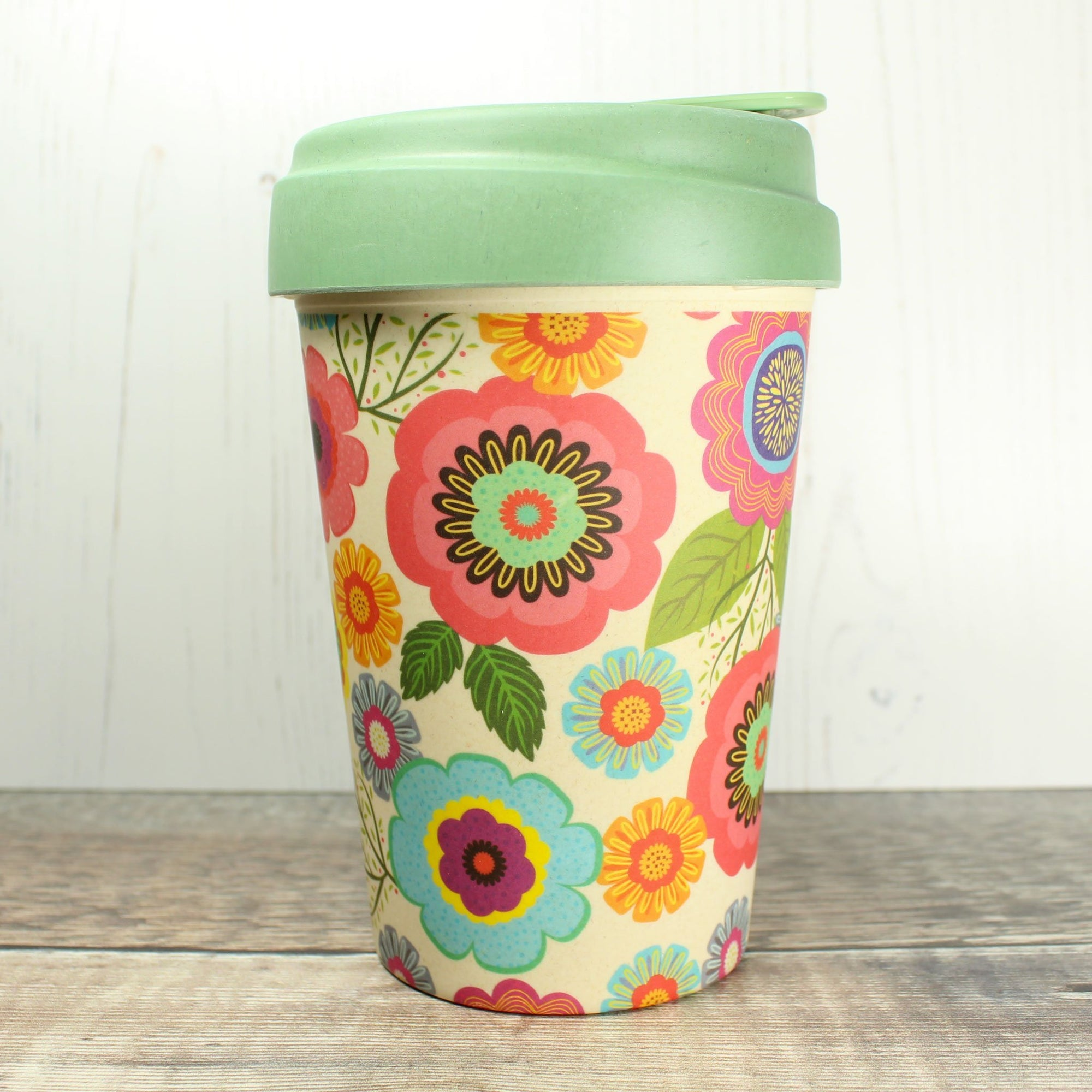 Bamboo Cup - Flower Power | Bamboo Cup - The Naughty Shrew