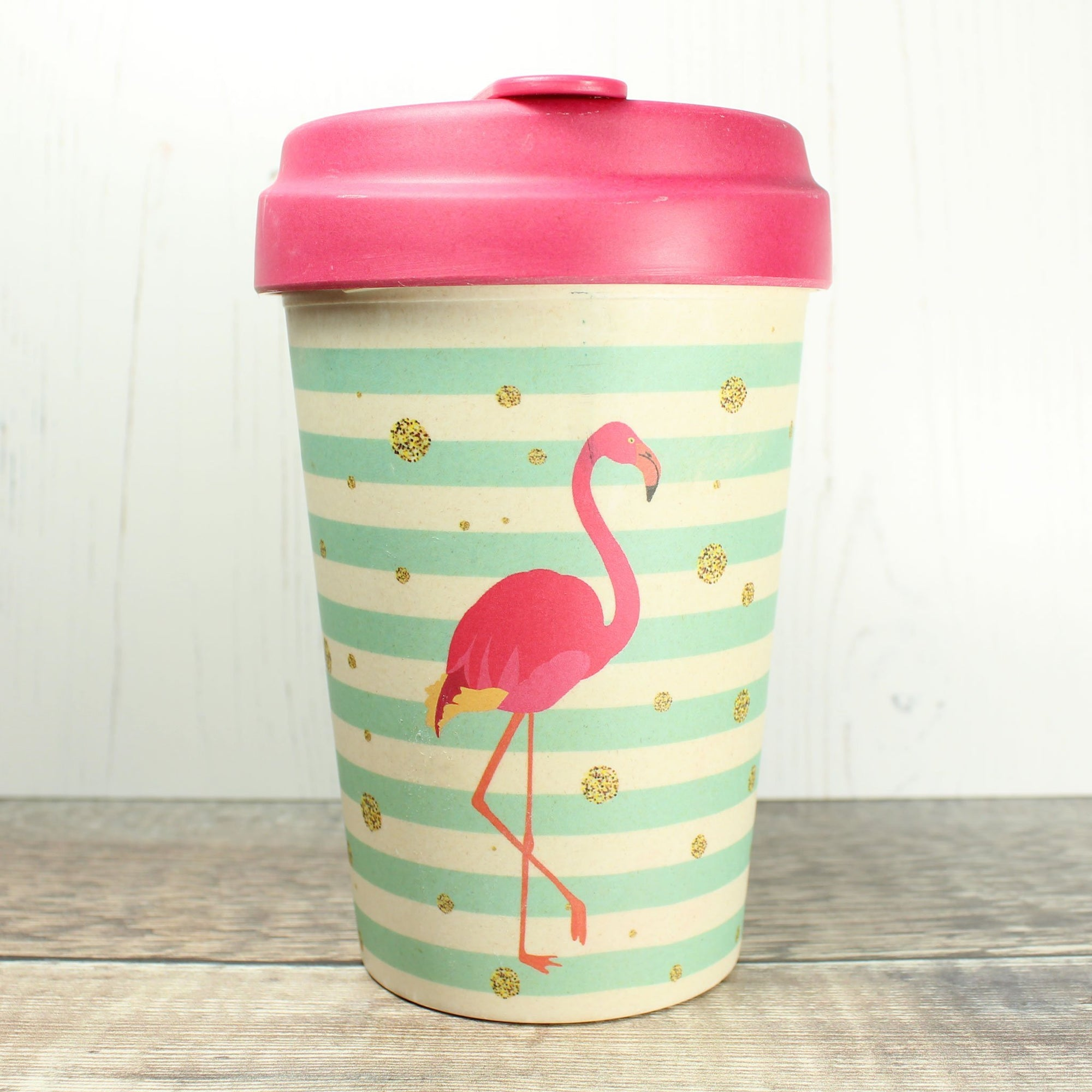 Bamboo Cup - Flamingo | Bamboo Cup - The Naughty Shrew