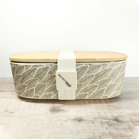 Bamboo Lunch Box - Leaves - the naughty shrew