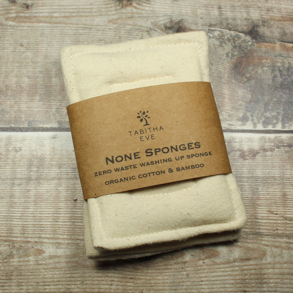 None Sponge - 2 Pack - Natural - The Naughty Shrew