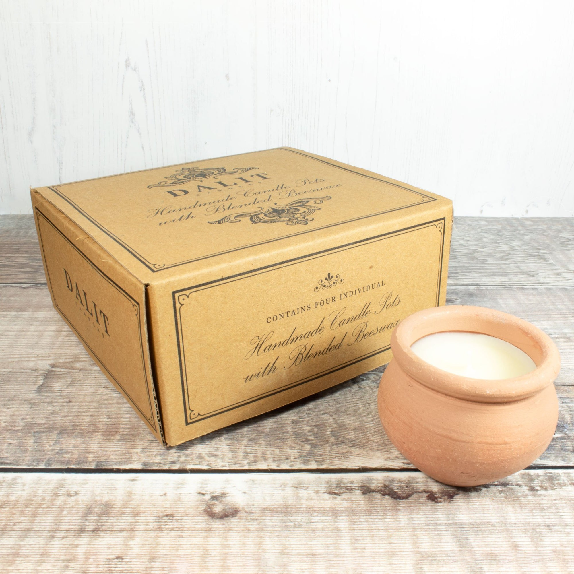 Murgan Candles - Lavender Scent, Box Of 4 | Candle - The Naughty Shrew