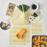 Vegan Food Wrap - Large Kitchen Pack | Food Wrap - The Naughty Shrew