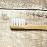 Bamboo Toothbrush - Green - the naughty shrew
