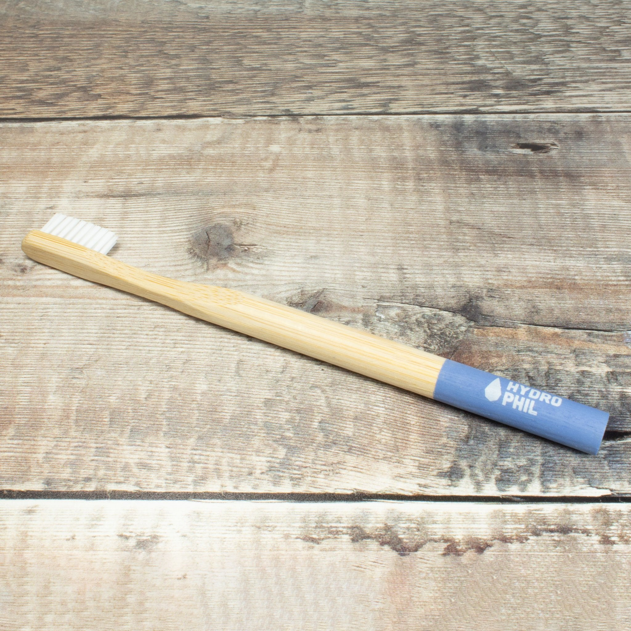 Bamboo Toothbrush - Pale Blue | Toothbrush - The Naughty Shrew