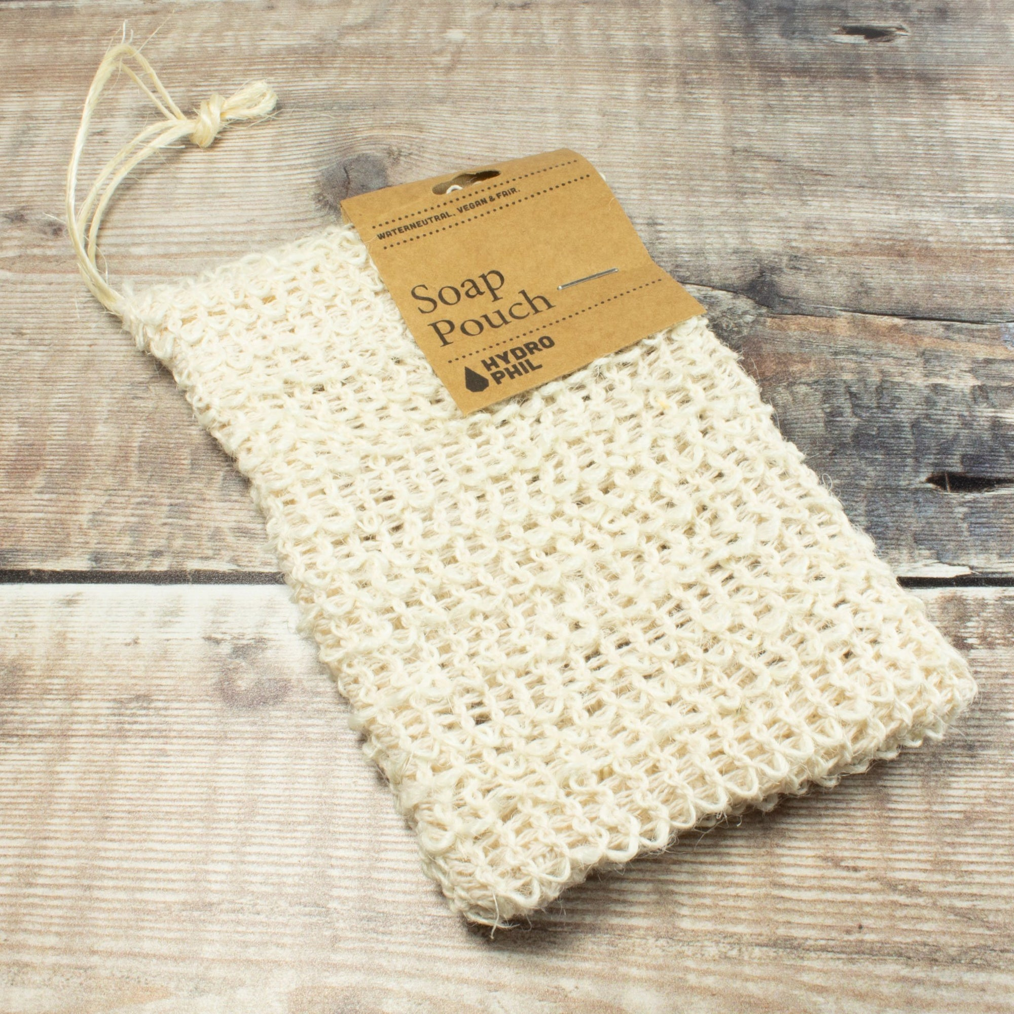 Exfoliating Sisal Soap Pouch | Flannel - The Naughty Shrew