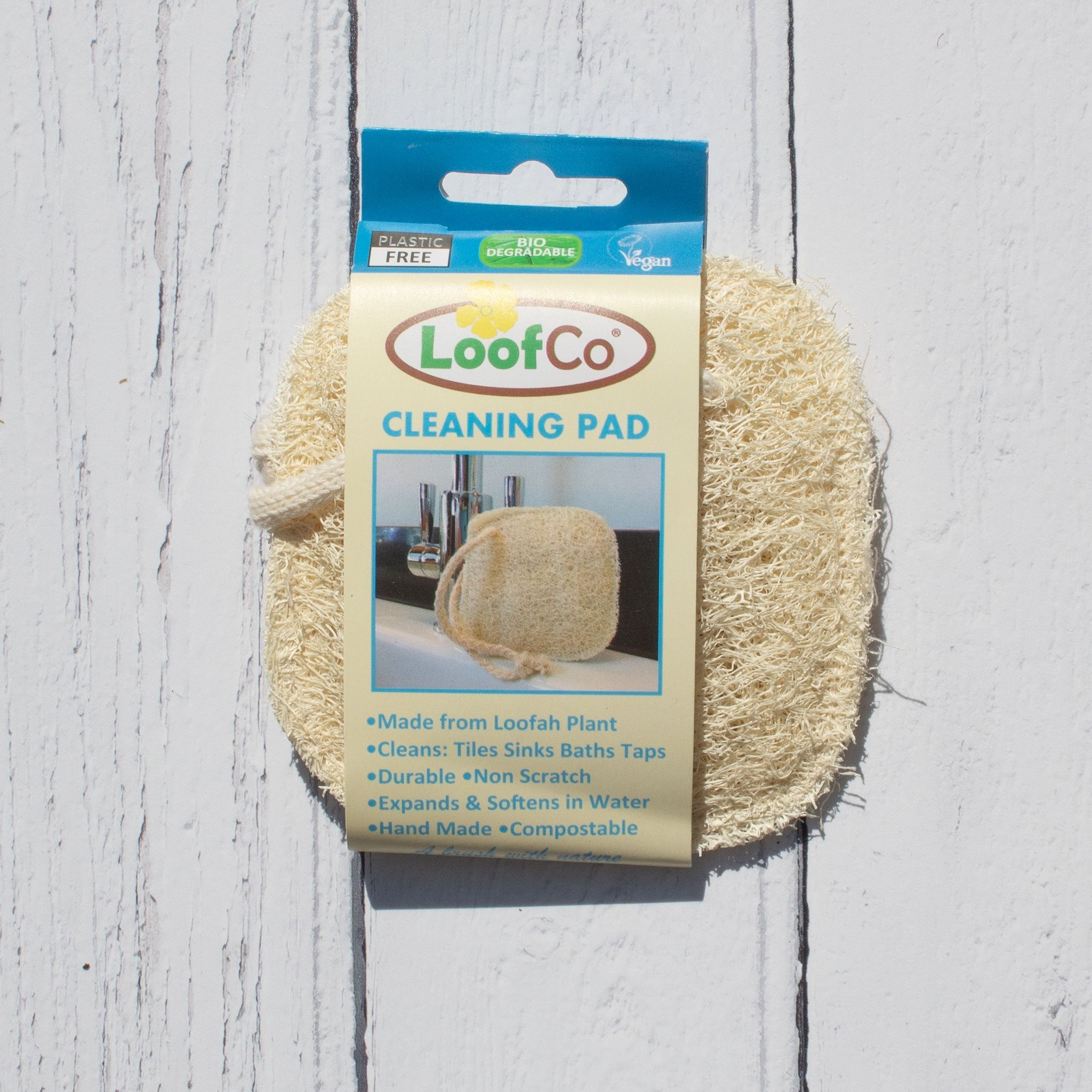 Loofah Cleaning Pad | Cleaning Cloths - The Naughty Shrew