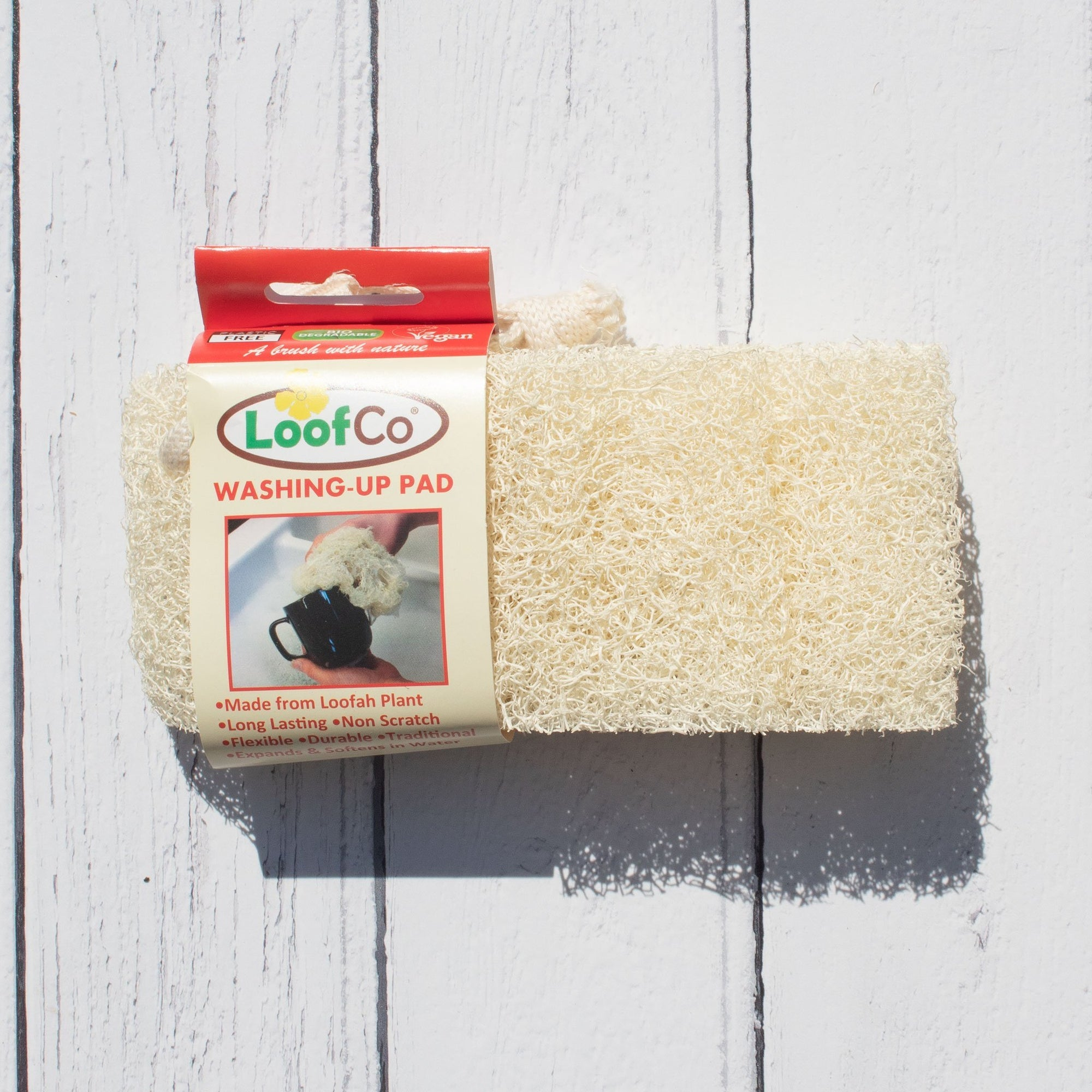 Loofah Washing Up Pad | Washing Up Sponges - The Naughty Shrew