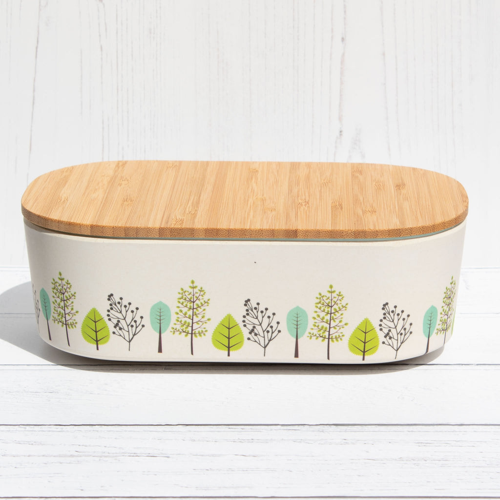 Bamboo Lunch Box - In The Arbor | Lunch Box - The Naughty Shrew