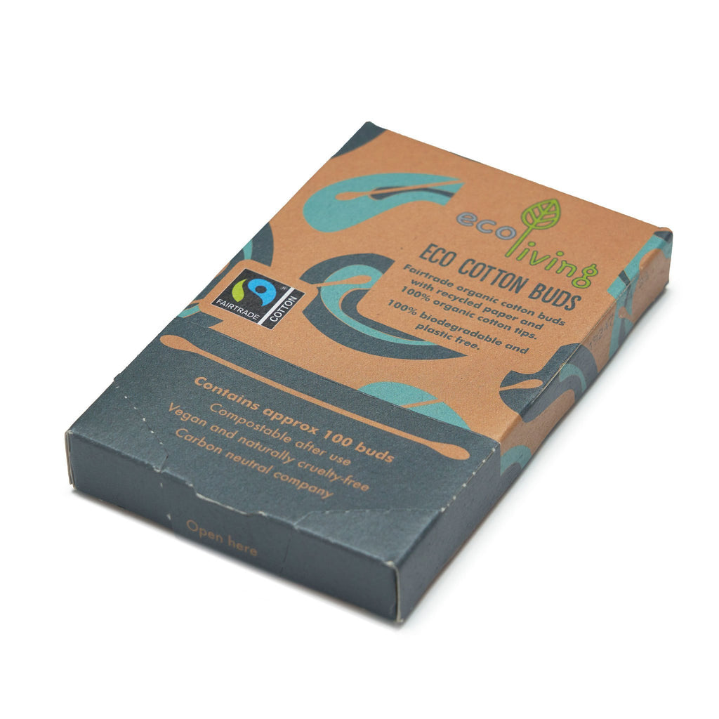 Fairtrade Organic Cotton Buds | Cotton Buds - The Naughty Shrew