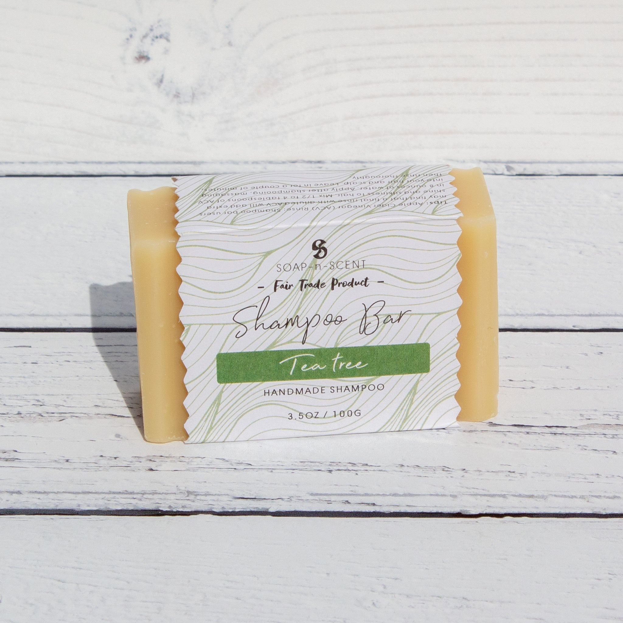 Tea Tree Shampoo Bar | Shampoo - The Naughty Shrew