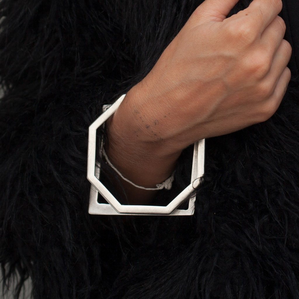 Octagon bangle | Bracelet - The Naughty Shrew