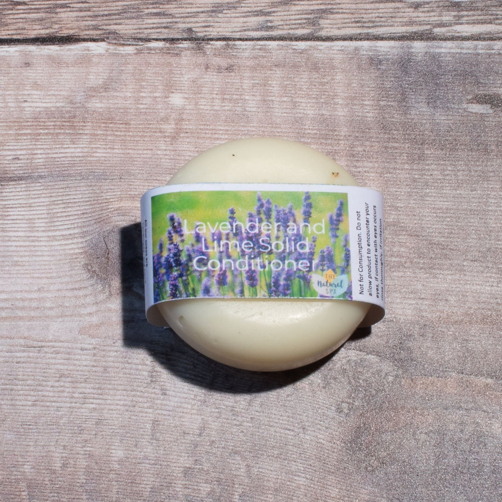 Lavender & Lime Hair Conditioner Bar | Conditioner Bar - The Naughty Shrew