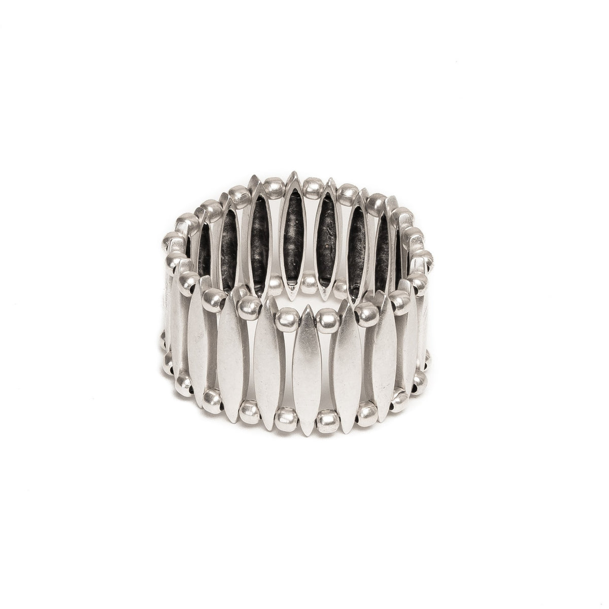 Ball & Diamond Cuff Bracelet | Bracelet - The Naughty Shrew
