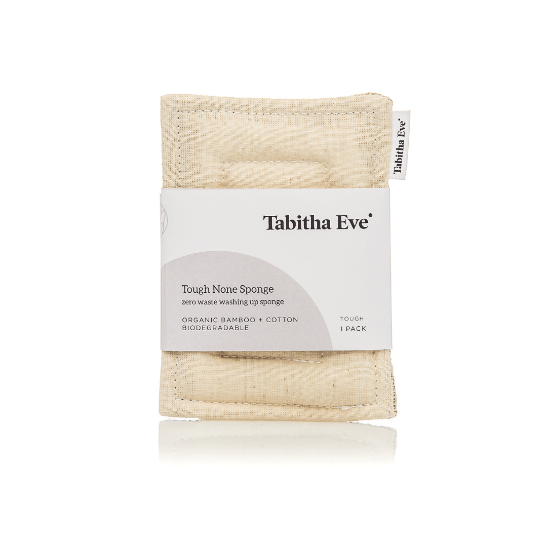Tough None Sponge - Natural | Washing Up Sponges - The Naughty Shrew