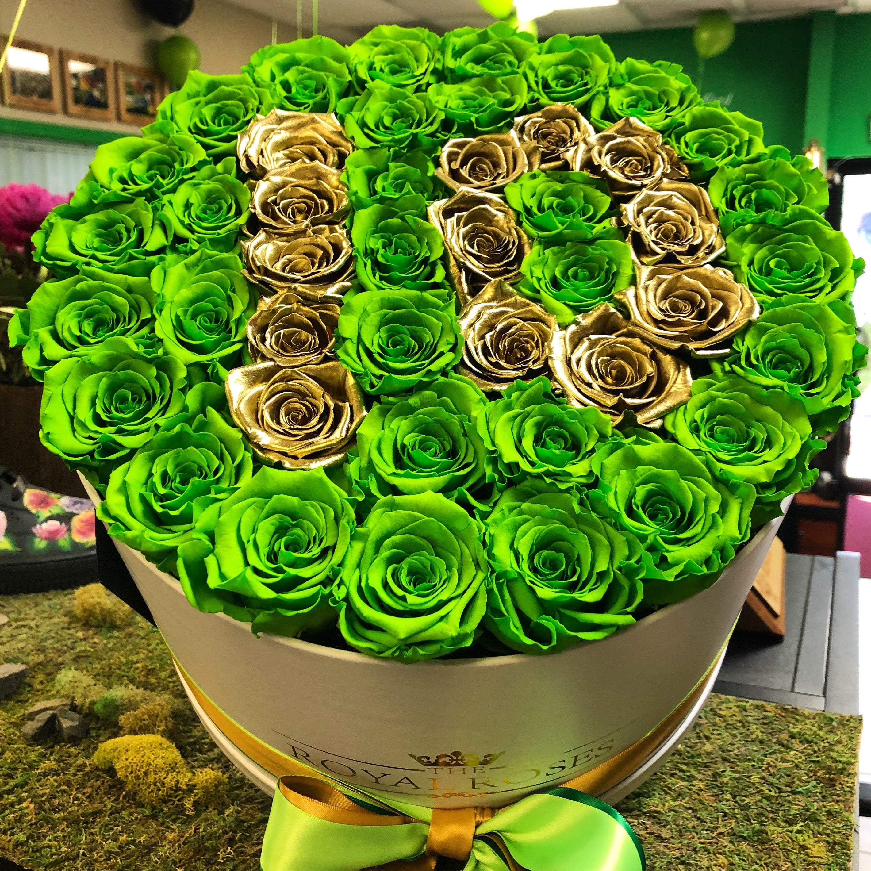 Valentine Love with Royal Roses