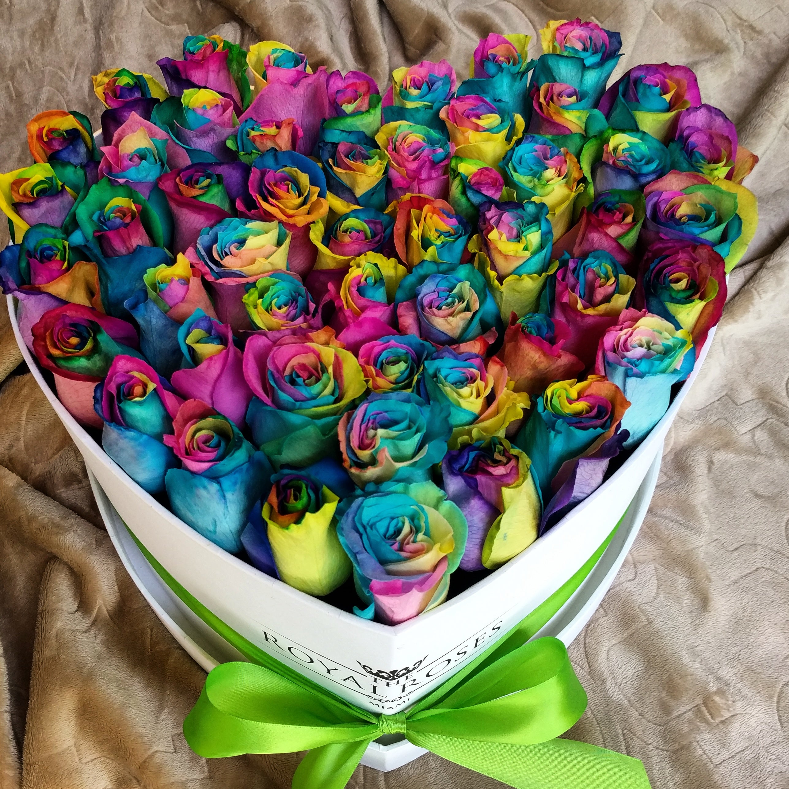 The Many Colors of Royal Roses