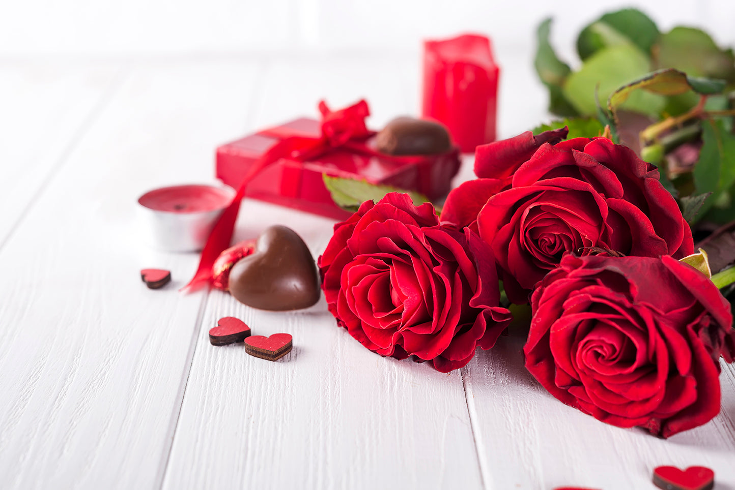 Teddy Bears, Chocolates & Roses... Oh My!
