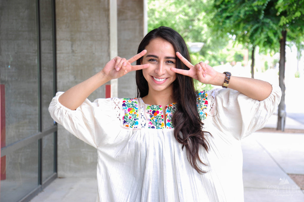 Nativa Mexican Blouses Available at Melissa Guerra