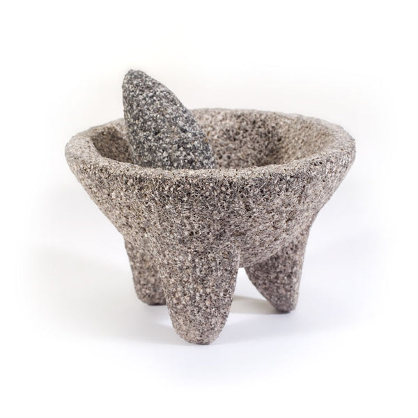 Authentic Volcanic Rock Molcajete