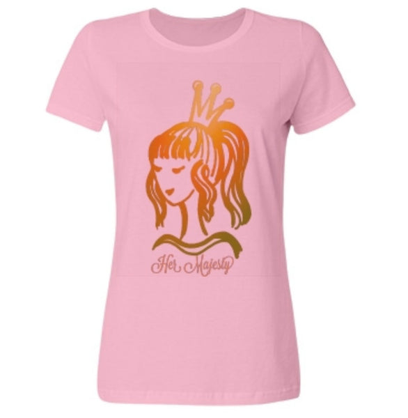 Her Majesty Rose Tee Shirt