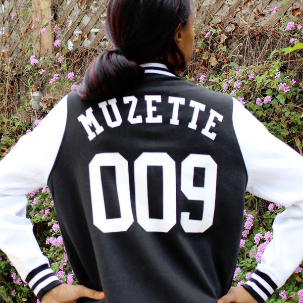 Muzette 009 Signature Varsity Jacket