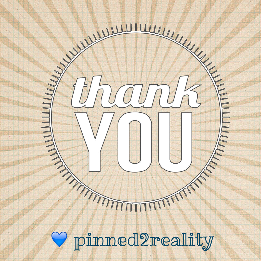 Thank you from pinned2reality