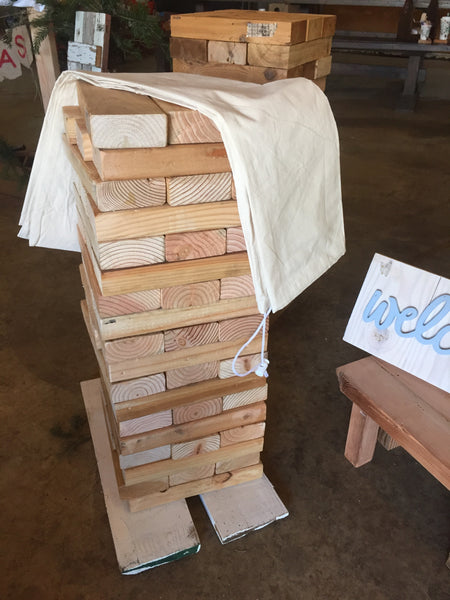 Giant Outdoor Jenga