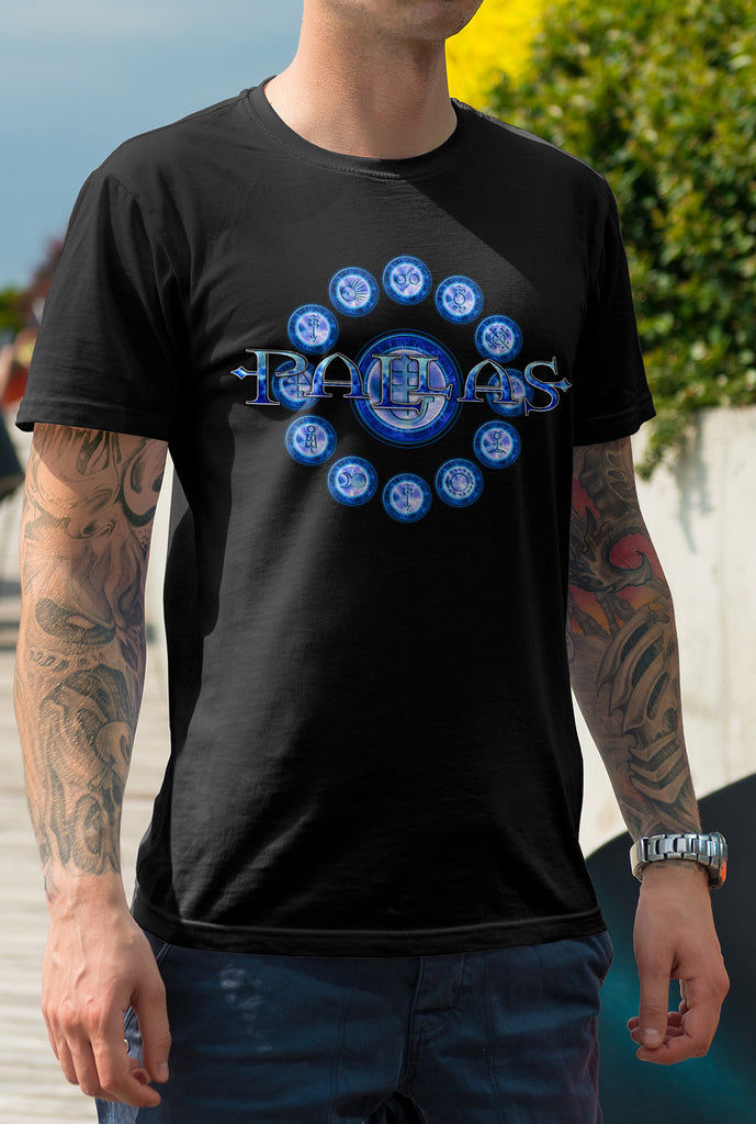 Pallas :: The Blinding Darkness<p> Unisex Gildan T Shirt In a Range of 12 colours Custom T Shirt by Lets Get Shirty Dot Com