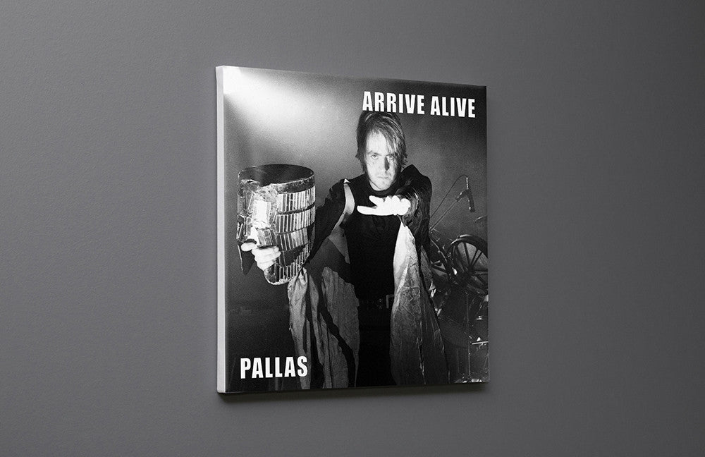 Pallas Arrive Alive Single 2 Canvas Wall Art Custom T Shirt by Lets Get Shirty Dot Com