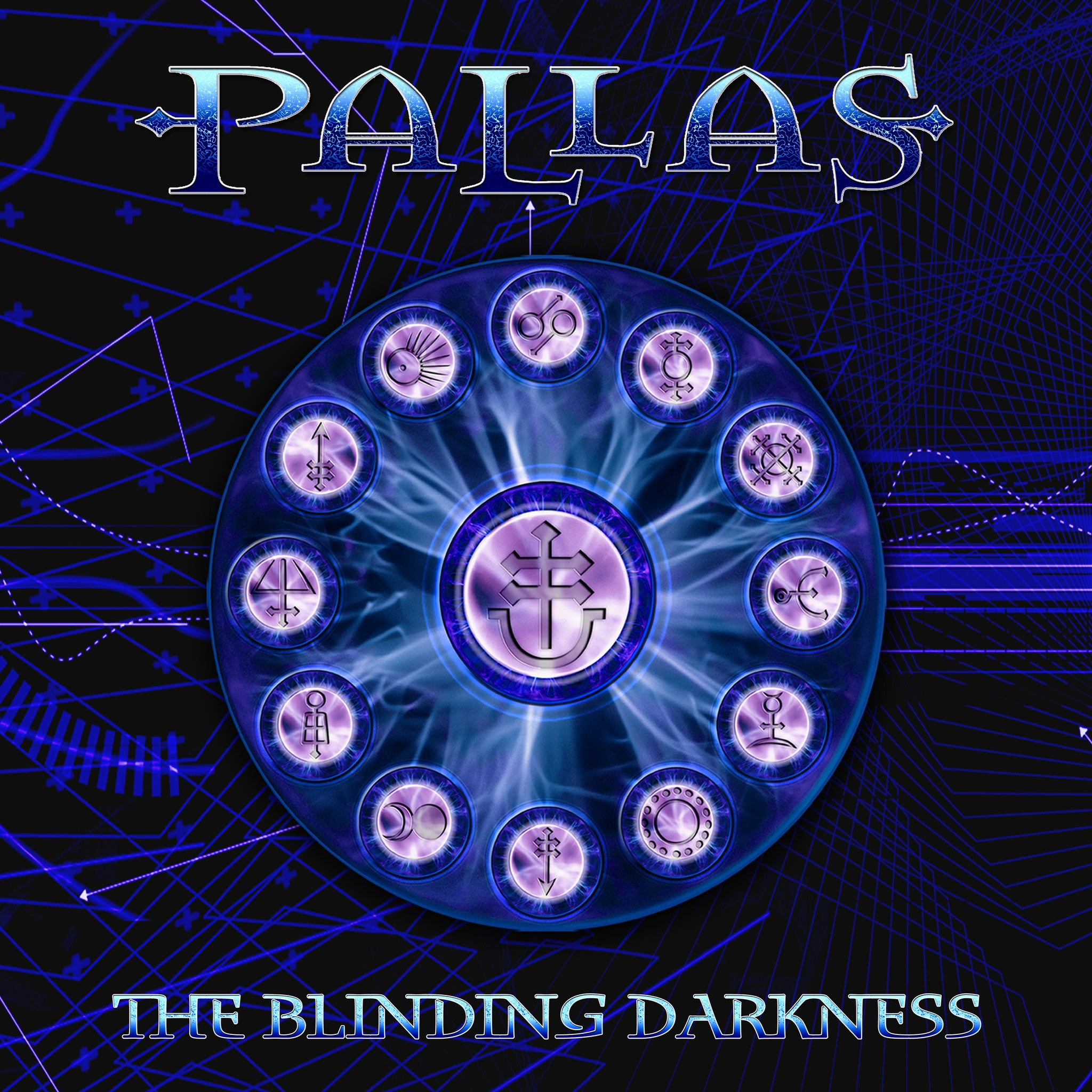Pallas The Blinding Darkness Canvas Wall Art Custom T Shirt by Lets Get Shirty Dot Com
