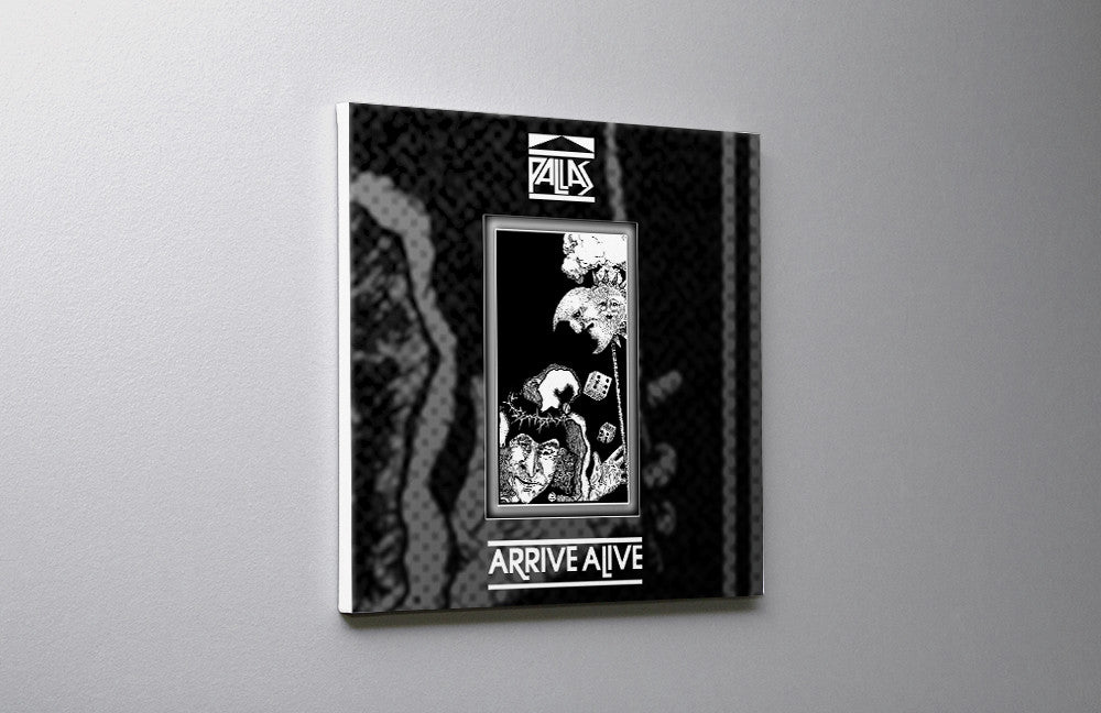 Pallas Arrive Alive CD Canvas Wall Art Custom T Shirt by Lets Get Shirty Dot Com